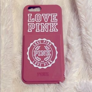 VS PINK iPhone 6s Card Holder Phone Case